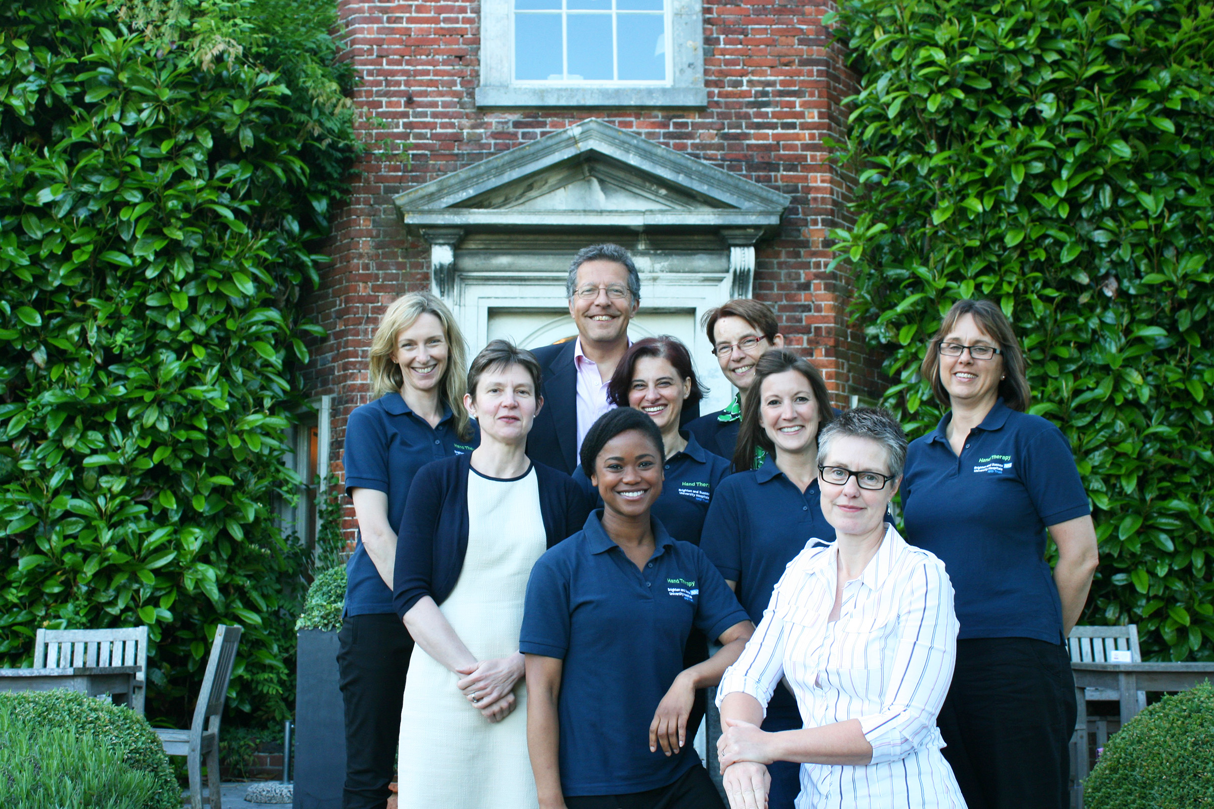 Sussex Hand Surgery team of consultant hand surgeons and hand therapists.